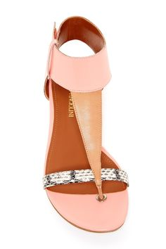 Tilah Ankle Cuff Sandal by Enzo Angiolini on @nordstrom_rack