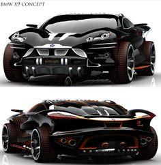 BMW X9 Concept | repinned by www.BlickeDeeler.de