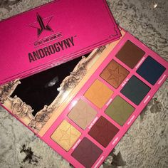 Jeffree star androgyny palette launching march 4th