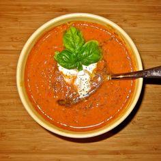> Jamie's fabelhafte italienische Tomatensuppe