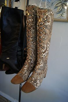 vintage boots WANT WANT WANT