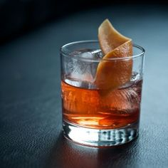 An old fashioned cocktail, by way of Mexico