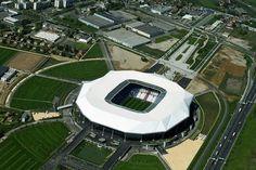 En photos – Les stades de l'Euro 2016 vus du ciel  #euro2016 #football #stade