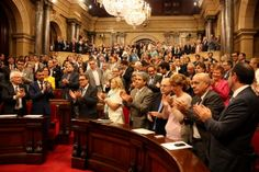 Catalan Parliament approves law to be used for self-determination consultation vote with 80% support - catalannewsagency.com, 19 September 2014. The Law on Consultation Votes, which will be used to call the non-binding consultation vote on independence scheduled for the 9th of November, has been approved on Friday by 79% of the Catalan Parliament, with the only opposition being from Spanish nationalists People's Party (PP) and Ciutadans (C's).