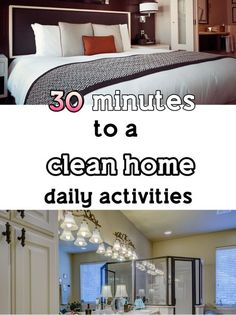 Day 46 - 30 minutes to a clean home ( daily activities)