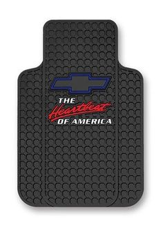 Chevy Heartbeat Of AmericaTrimToFit Molded Front Floor Mats  Set of 2 * To view further for this item, visit the image link.