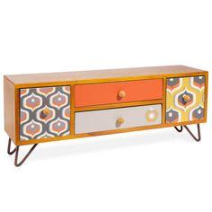 Boîte 4 tiroirs 16 x 43 cm LUCE Maisons du monde