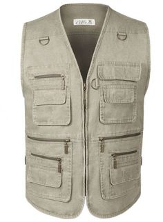 255ce25ff6d Men s Denim Vest Jean Sleeveless Jacket Waistcoat Plus Size With Many  Pockets
