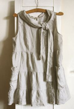 Hey, I found this really awesome Etsy listing at https://www.etsy.com/listing/196185533/vintage-linen-tunic-dress-natural-linen