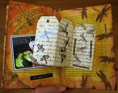 Back in January I took an altered book class  at  Memories Galore  in Richmond with Melissa Samuels. In class we tore out pages to make room...