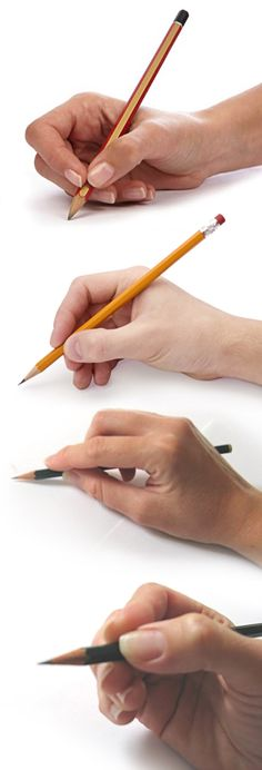 3 Ways to Hold a Pencil