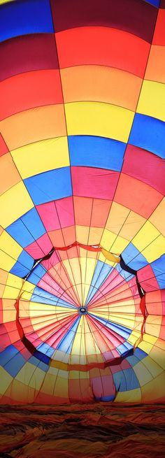 Hot Air Balloon...reminds me of kindergarten gym class