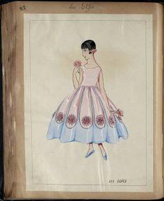 LES ELFES, robe de style pour enfant, Paris  1926-27 © Patrimoine Lanvin. #Lanvin125