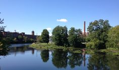 The Clock Tower apartments (or old Nashua Manufacturing Company Building) and the Nashua River. Nashua, New Hampshire. Nashua New Hampshire, Tower Apartment, Beer Club, Main Street, 50th Birthday, Dog Friends, Brewery, Apartments, Clock