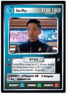 Star Trek Ccg, Collector Cards, Timeline, Science Fiction, Discovery, Sci Fi, Stars, People, Red