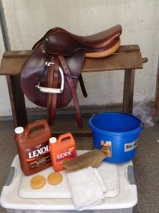 How To Clean An English Saddle