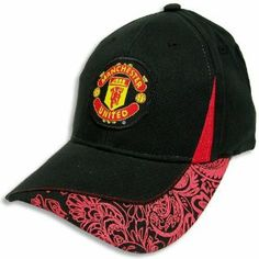 MANCHESTER UNITED SOCCER OFFICIAL LOGO ADJUSTABLE HAT CAP by Manchester United. Save 31 Off!. $15.95. Officially licensed by the Soccer. Officially licensed by the Manchester United. Top Quality, Manufactured by Rhinox Group. Terrific adult sized cap features an emboidered official Manchester United logo on the front. Features embroidered official Manchester United logos and official graphics. One size fits most adults. Adjustable metal clip in back for comfortable sizing. 100%...