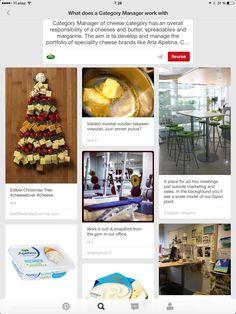 Pinterest-rekrytointia vuodelta 2012. Kuvat kertovat todellakin enemmän kuin 1000 sanaa. Cheese Brands, No Response, Culture