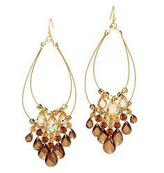 Champagne Shimmer Earrings