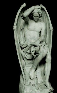 """Lucifer (which means """"bearer of light"""") the so-called """"fallen"""" angel"""