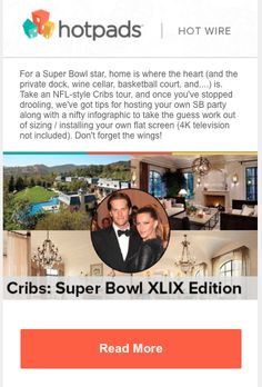 The Super Bowl is a marketing goal mine. Get inspired by the best Super Bowl email campaigns, subject lines, and free HTML email templates. Email Marketing Campaign, Marketing Goals, Free Html Email Templates, Super Bowl, Infographic, Infographics, Information Design, Visual Schedules