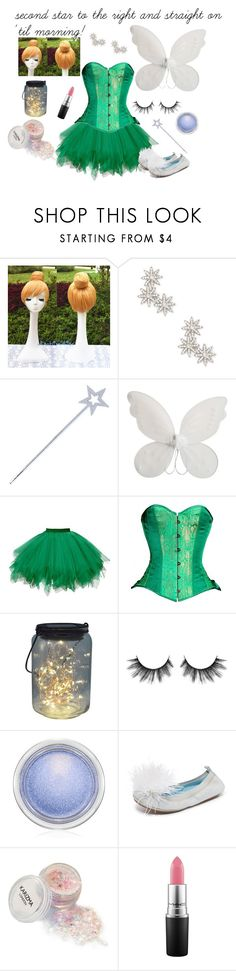 """""""Tinkerbell Costume"""" by timeless-trends on Polyvore featuring Sole Society, Circo, MAC Cosmetics, Yosi Samra, costumeideas and timelesstrends"""
