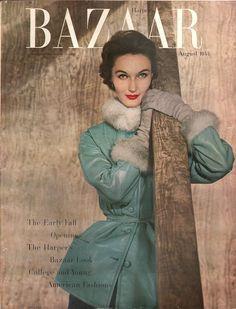 Harpers Bazaar August 1953 - EphemeraForever.com