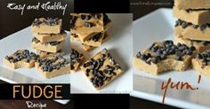 Easy, Healthy Fudge Recipe  only 2-4 T honey, no lflours(Paleo, Vegan)  Primally Inspired