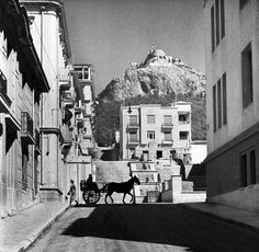 1934 ~ Kolonaki, Athens (photo by Alfred Eisenstaedt) My Athens, Athens Greece, Athens History, Old Photos, Vintage Photos, Old Greek, My Land, Timeline Photos, Greek Islands