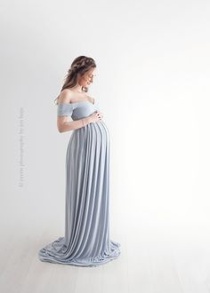 Designer Maternity Gowns for Photo Shoots, Baby Shower Dresses, Girls Gowns, Newborn Props, and more. Handmade in the USA by Sew Trendy Vestidos Para Baby Shower, Baby Shower Dresses, Pregnancy Outfits, Pregnancy Photos, Maternity Gowns Formal, Skirt Fashion, Fashion Dresses, Maxi Styles, Maternity Fashion