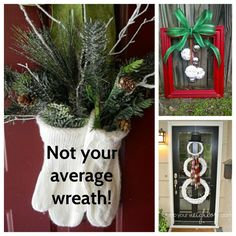 12 Awesome Alternatives to Traditional Christmas Wreaths
