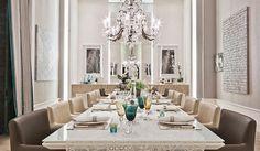 Salas de jantar-50 modelos maravilhosos e dicas de como decorar! - DecorSalteado