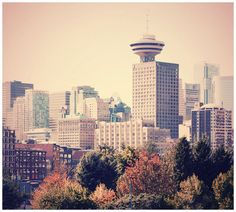 Vancouver, BC Hoping to visit here in Vancouver Architecture, Historic Architecture, Places Ive Been, Places To Go, Seattle Skyline, Find Image, Cities, San Francisco, Destinations