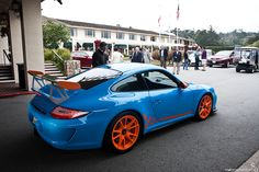 https://flic.kr/p/ayH77H | Gulf Themed RS | 997.2 GT3 RS rocking a Gulf color scheme, I think this might be my favorite GT3 RS!