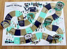 2011 Holiday Board Game | Tad Carpenter Creative