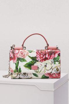 24b3d1909e5 Dolce & Gabbana Sicily mini clutch Dolce And Gabbana Purses, Hobo Purses,  Floral Fashion