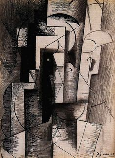 Pablo Picasso. Portrait of Guillaume Apollinaire, 1913