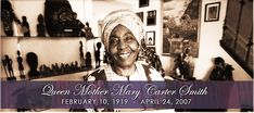 FEBRUARY 10th is #MOTHERMARYCARTERSMITHDAY  A Holiday for the National Association of Black Storytellers, Inc.