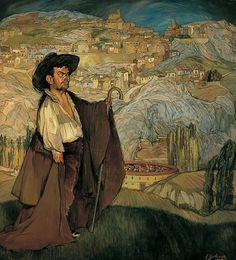 Ignacio Zuloaga - Gregorio en Sepúlveda