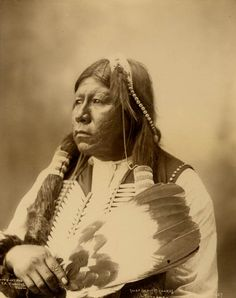 """""""Chief Grant Richards (Tonkawa)"""" by F. A. Rinehart, 1898. The Tonkawa are a Native American people indigenous to present-day Oklahoma and Texas. They once spoke the now-extinct Tonkawa language believed to have been a language isolate not related to any other indigenous tongues. They are enrolled in the federally recognized tribe Tonkawa Tribe of Indians of Oklahoma."""