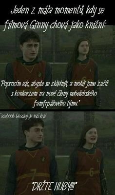 Harry Potter Texts, Harry Potter Images, Harry Potter Film, Funny Texts, Funny Jokes, Harry And Ginny, Ginny Weasley, Hogwarts, Good Books