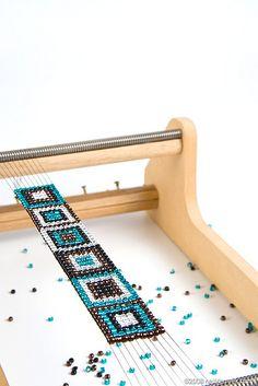 Beaded Bracelet on Loom | by Josephine Berger As seen on my … | Flickr