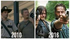 Rick Grimes and Daryl Dixon
