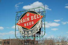 Grain Belt Beer sign, Minneapolis, MN (john piepkorn photographer)