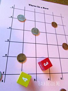 Math Grid Game - Teach Beside Me