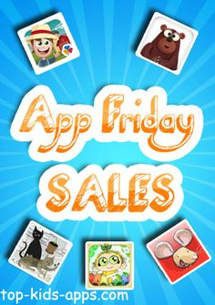 Have some fun learning moments during the weekend w/ a list of 10 best kids' apps discounted TODAY ONLY!
