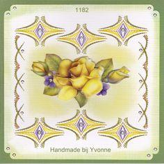 YBB 1182 Gele Roos