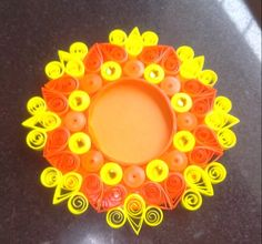 Candle holder by Alvina's Paper Creations