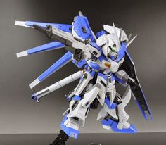 SD hi-nu Gundam Custom Build - Gundam Kits Collection News and Reviews
