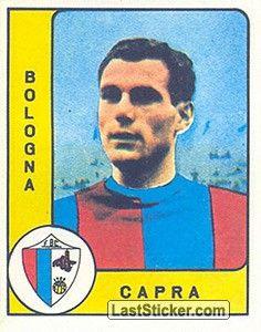 BRUNO CAPRA 1961-62 BOLOGNA 27 presenze e nessun gol in stagione